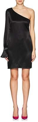 Area Women's Cara Embellished Silk Minidress