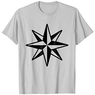 Eight-Pointed Nautical Star T-Shirt