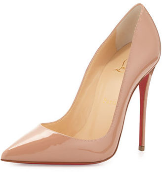 Christian Louboutin So Kate Patent Red Sole Pump $675 thestylecure.com