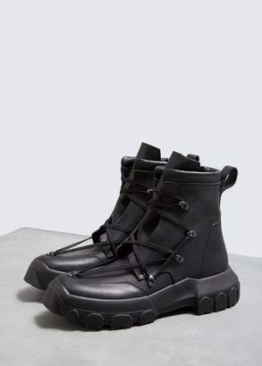 Rick Owens Lace-up Hiking Boot