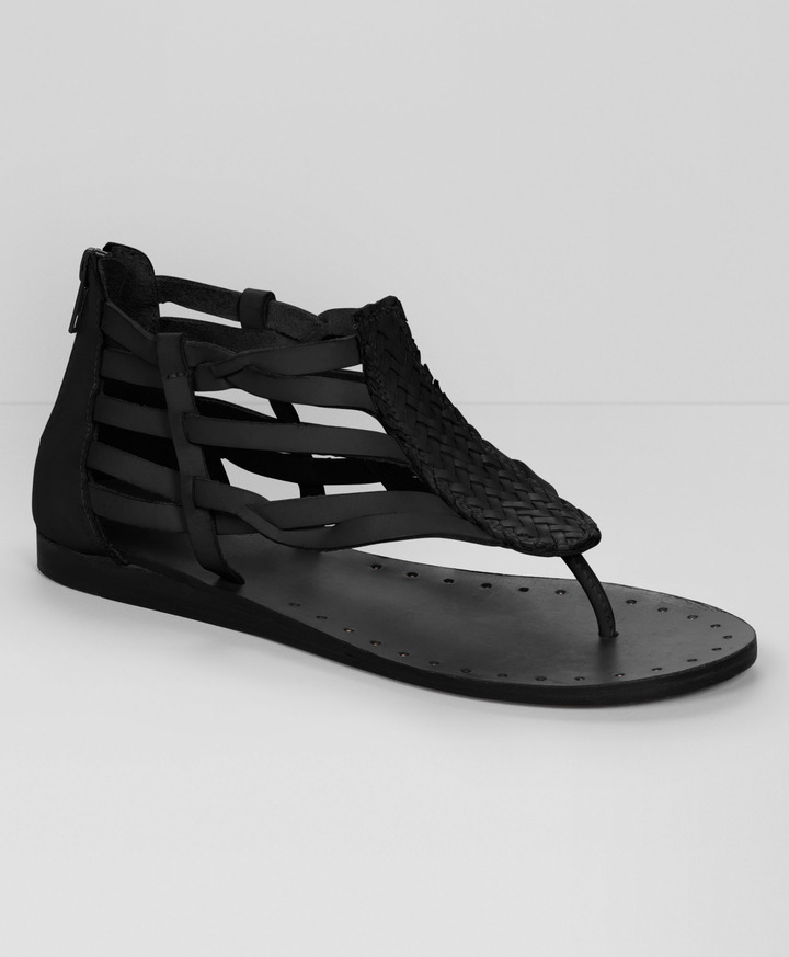 Levi's Braided Leather Sandals