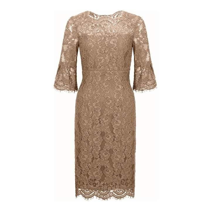 Biege Vanessa Lace Dress