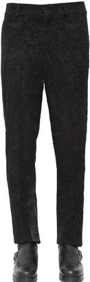 Damir Doma 20cm Devore Wool & Satin Pants