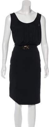 Fendi Sleeveless Midi Dress