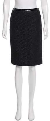 Kaufman Franco KAUFMANFRANCO Tweed Pencil Skirt