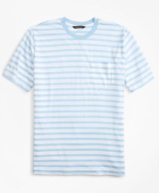 Brooks Brothers Supima Cotton Stripe T-Shirt