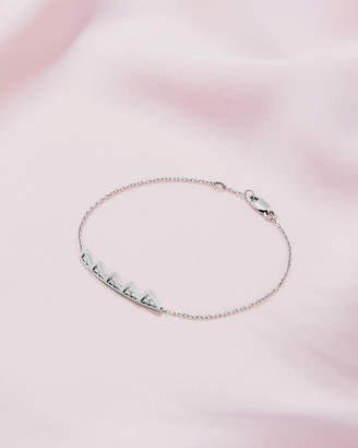 Ted Baker ALMAAS 9ct white gold and diamond crown bracelet