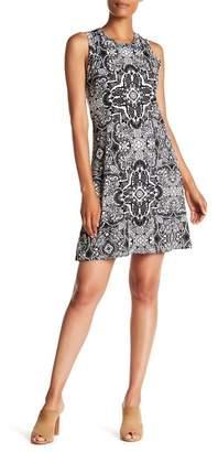 Karen Kane Printed Sleeveless Dress