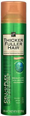 Thicker Fuller Hair Weightless Volumizing Hairspray