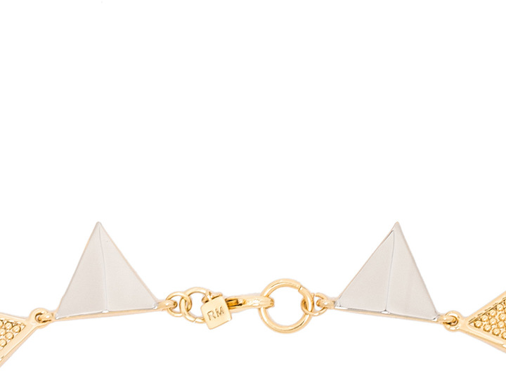 Rebecca Minkoff Open Blade Triangle Necklace