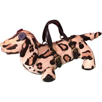Moschino Cheap & Chic Moschino Cheap And Chic Multicolour Pony-style calfskin Handbag