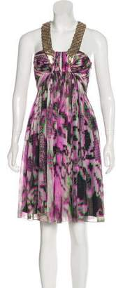 Matthew Williamson Embellished Midi Dress