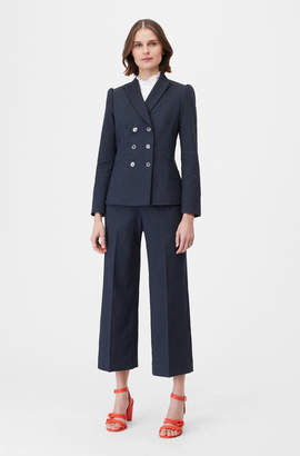 Rebecca Taylor Tailored Stretch Linen Blend Jacket