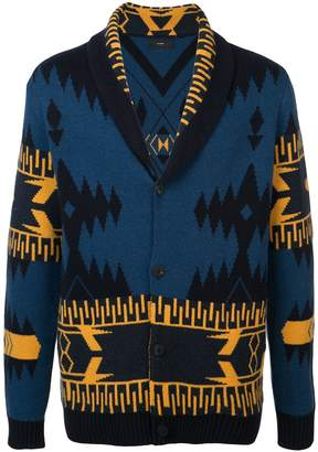 Alanui shawl collar cardigan