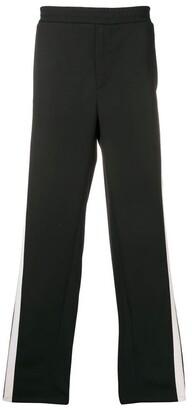 Valentino mesh side stripe track pants