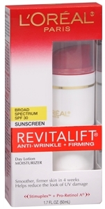 L'Oreal Revitalift Complete Anti-Wrinkle & Firming Moisturizer Day Lotion SPF 30