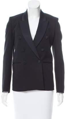 Neil Barrett Layered Virgin Wool Blazer
