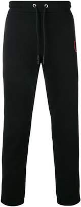 McQ 'fanclub' patch track pants