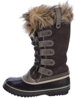 Sorel Waterproof Round-Toe Boots