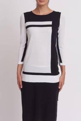 Cullen Color Block Sweater $123 thestylecure.com