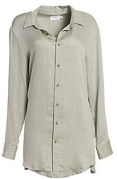 Onia Women's Marie Pinstripe Shirtdress