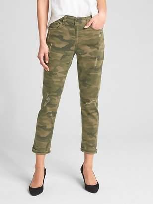 Gap Mid Rise Best Girlfriend Jeans in Camo