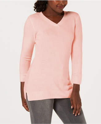 Karen Scott V-Neck Sweater
