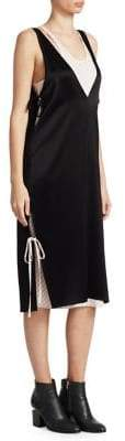 Alexander Wang Layered Satin Dress