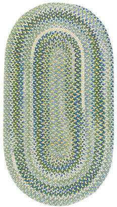 Capel Inc. Capel Waterway Reversible Braided Oval Rug