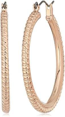 """T Tahari Essentials"""" Rope Hoop Earrings"""