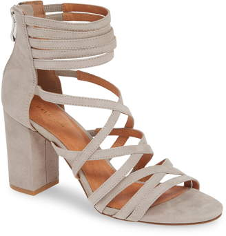 Halogen Strappy Block Heel Sandal