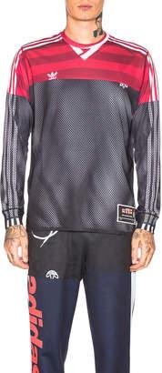 Alexander Wang Adidas By Photocopy Long Sleeve Top