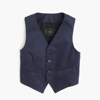 Boys' Ludlow suit vest in Italian chino $75 thestylecure.com
