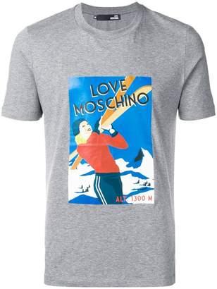 Love Moschino graphic print T-shirt