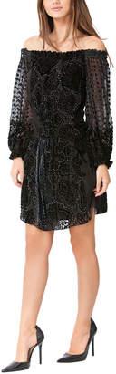Hale Bob Silk-Blend Dress