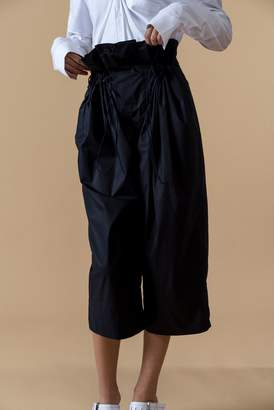 Genuine People High Waist Baggy Pants