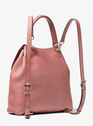 102e9ab36b75 MICHAEL Michael Kors Viv Large Pebbled Leather Backpack