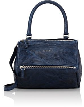 Givenchy Women's Pandora Pepe Medium Messenger Bag-NAVY $1,695 thestylecure.com