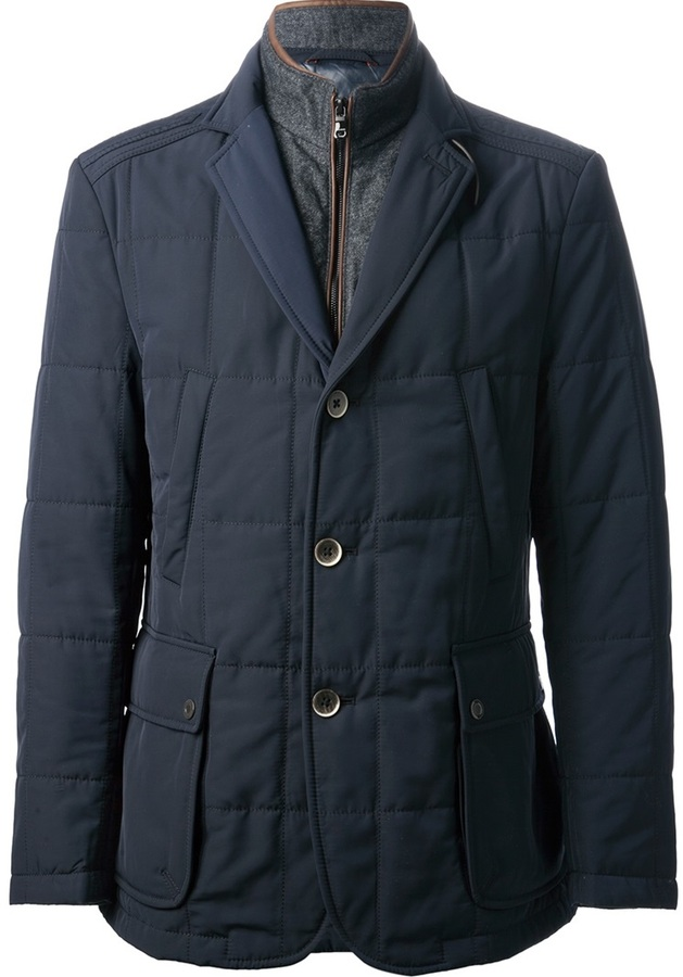 HUGO BOSS double collar jacket