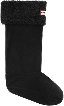Hunter Sheepy Fleece Faux Shearling Cuff Tall Boot Sock