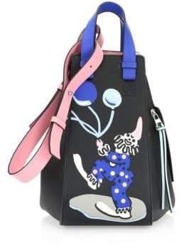 Loewe X Paula's Ibiza Hammock Circus Leather Top Handle Bag