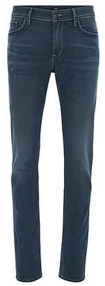 HUGO BOSS Slim-fit jeans in comfort-stretch Italian denim