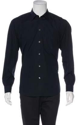Helmut Lang Vintage Woven Dress Shirt