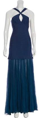 Herve Leger Sarina Evening Dress w/ Tags