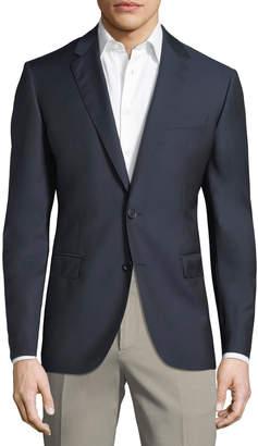 Neiman Marcus Men's Serg Wool Blazer, Navy
