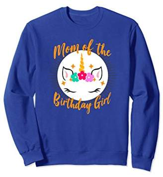 Unicorn Birthday Sweatshirt For Women Funny Gift Unicorns