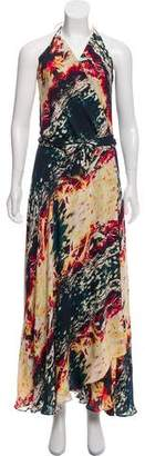 Haute Hippie Printed Maxi Dress