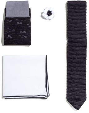 hook + ALBERT Shop the Look Suiting Accessories Set, Black
