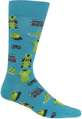 Hot Sox Men's Printed Socks