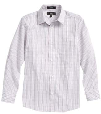 Nordstrom Plaid Dress Shirt